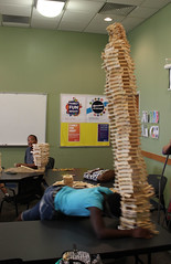 Georgetown STEM Adventures, August 30, 2016 - Build It High (ACPL) Tags: acpl allencountypubliclibrary georgetown geo stemadventures stem buildithigh fortwaynein 2016