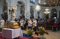 Peregrynacja Figury w. Michaa Archanioa040 (Sanktuarium w Krzeszowie) Tags: krzeszw grssau boogrobcy gargano archanio micha saint michael archangel