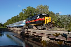 A shot worth Crowing about (gsebenste) Tags: iowainterstaterailroad iais excursiontrain trains sparland illinois