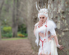 Miss Twisted last weekend.. (Some Random Photography) Tags: cosplay cost model melbourne australia faun kitsune forest spirit