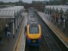 222103 @ Loughborough (ianjpoole) Tags: east midlands trains 222103 working 1c27 sheffield london st pancras international