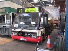 Nottingham Heritage Vehicles - Trent 401 (channel4squares) Tags: trent buses tm travel barton