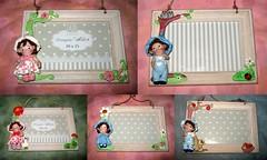 cornici naif (mindi64) Tags: fimo cernit portafoto cornici naif babie infanzia cute