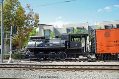 SAN DIEGO/METRO-NORTH--MNRR 3 at La Mesa Depot (milantram) Tags: sandiego lamesadepot metronorth steamlocomotives