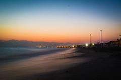 After Sunset in Belek (lukashlsmann) Tags: beach sunset night landscape nature mittelmeer turkei graphic minimalistic unreal