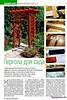 Потолочное панно из бамбука