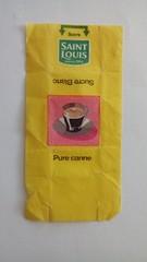 Série Saint Louis Tasses - tasse 01 (periglycophile) Tags: périglycophilie sucrology sugar packet sucre morceaux cube france saint louis série series tasses