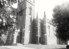 A church in town. (J O E M A T I O N) Tags: hdr ireland blackandwhite flickr monochromatic old church uk