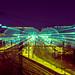 Kieler Bahnhof bei Nacht