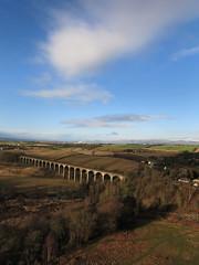 KAP Shot over Kettlestoune Mains (Linlithgow Bridge) (Jim Knowles (West Lothian Archaeological Trust)) Tags: bridge kite west archaeology canon photography scotland aerial trust kap linlithgow lothian s110