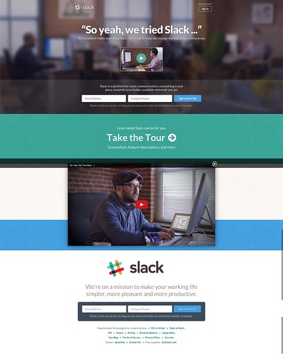 Slack by Gustavo da Cunha Pimenta, on Flickr