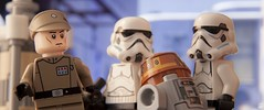 WATCH OUT DROID! (fullnilson) Tags: show photography starwars tv chopper lego you 4 stormtroopers stormtrooper imperial officer legostarwars rebels 2015 lothal klocki legography legorebels fullnilson klocki4you