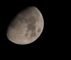 LUNA DI DICEMBRE (gius_mar2014) Tags: moon canon eos luna themoon canon400mmf56 canon1dmark3