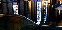 Salisbury Cathedral Font #dailyshoot # reflection (Leshaines123) Tags: winter colour lines vertical composition contrast reflections cathedral shapes salisbury wiltshire rule facebook thirds iphone paterns dailyshoot tumblr vividandstriking leshainesimages