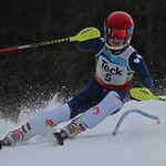 Nathan Romanin won all three races at Whistler U14 Teck slalom PHOTO CREDIT: Hans Forssander
