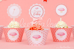 21a - Pink Fairy - Party Circles & Cupcakes Wraps - B3 (LeeLaaLoo) Tags: birthday pink boy party food love girl beautiful garden diy heart awesome decoration birthdayparty best fairy fairies ideas magical printable