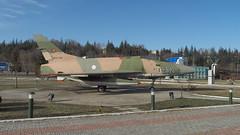 F-100C Super Sabre at Aviation Park (mcaero/LTBY) Tags: turkey fighter f100 sabre usaf eskiehir tr supersonic eskisehir northamerican aviationmuseum turkishairforce anadoluuniversity f100csupersabre