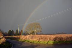 Rainbow (Lee1885) Tags: cloud storm rainbow cheshire malpas