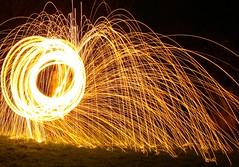 Spinning flames (lukegoodearl) Tags: canon650 spinningflames lightpanting