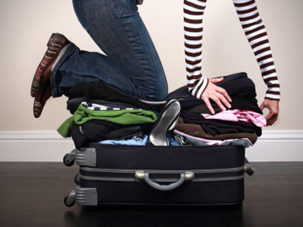 mang hành lý quá nặng