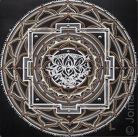 Joma Sipe, Mandala III Original Version