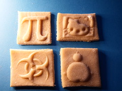 Cookie printing (fdecomite) Tags: kitchen 3d cookie printing math