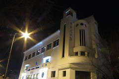 Arcub by night (soreen.d) Tags: art architecture romania deco bucharest