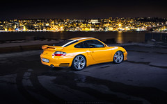 Beautiful Yellow Porsche 996 Turbo X50 from Europe (vividracing) Tags: porsche996turbo 996tt
