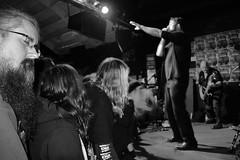 Gilman 924, Berkeley (Courtney Thompson) Tags: show california music white black metal berkeley nikon punk audience live crowd fans 924 gilman alaric