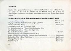 Kodak Retinette IIA - Instructions for use - Page 20 (TempusVolat) Tags: film 35mm vintage mr kodak instructions guide manual retinette tempus iia morodo retinetteiia volat mrmorodo garethwonfor tempusvolat