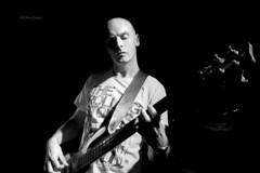 Bass line (No this is not Graham Hazeldon :-) (alun.disley@ntlworld.com) Tags: blackandwhite music art mono artist shadows bass musicalinstrument atmospheric wirral merseyside thevinylswirralcom