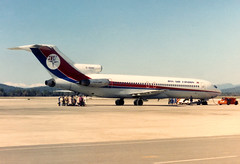 Dan-Air London B727-2J4 G-BHNF GRO 03/02/1988 (jordi757) Tags: leica airplanes girona boeing costabrava r4 lege avions 727 gro b727 b727200 danairlondon gbhnf