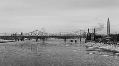 The Bridges of St. Louis (jhoff1257) Tags: stlouis bridges mississippiriver stlouisarchitecture stanspan stanmusialveteransmemorialbridge