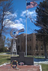 Hansford County Courthouse- Spearman TX (1) (kevystew) Tags: windmill texas courthouse courthouses spearman countycourthouse uscctxhansford hansfordcounty perkinswindmillcompany
