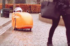 Sneaky Stalker - Slow Roll Malmö (Bikes vs Cars) (polybazze) Tags: city vacation urban orange bike bicycle canon 50mm interestingness europe dof sweden interestingness1 malmö sneaky urbam canonef50mmf14usm gustavadolfstorg 60d carsvsbikes bikesvscars flickrhivemindgroup