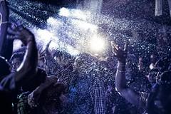 Lose Yourself to Dance (BeyondThePrism) Tags: blue wedding light party india snow night outside lights dance purple dancing bright indian crowd ceremony grand celebration procession cheer lose flakes celebrate orissa fakesnow bharat weddin daftpunk barat extasy armsintheair cuttack odisha kuttack