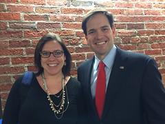 Ran into Senator Marco Rubio