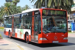 8445 FPK(E), Plaza Puerta del Mar, Alicante, June 18th 2014 (Suburban_Jogger) Tags: alicante 546 route02 subus mercedesbenzcitaro plazapuertadelmar 8445fpk