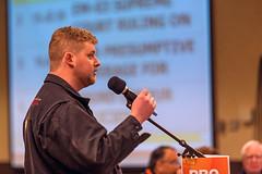 2015-03-06 Daniel Blaikie at the mic