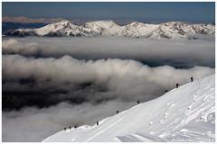 On the ridge (AGTphotos) Tags: winter mountain landscape powder inverno montagna scialpinismo sci trentino skialp trentinowinter trentinoskialp