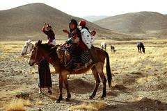 Woman and kids on horses (SamaraCroci) Tags: morocco marocco weddings matrimoni berberi imichil
