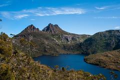 Cradle by the Mountain (joshuawoodhead) Tags: mountain tourism nature landscape tasmania cradle