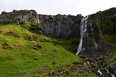 Waterfall in Olafsvik (Martin Ystenes - on Iceland) Tags: iceland sland vesturland martinystenes