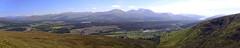 great glen from beinn bhan (stusmith_uk) Tags: scotland caledoniancanal landscape lochaber beinnbhan nevisrange greatglen june 2016 corbett