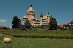 Schloss Vufflens ( Baujahr Neubau frühes 15. Jahrhundert  - château castle castello ) in Vufflens - le - Château im Kanton Waadt - Vaud in der Westschweiz - Suisse romande - Romandie der Schweiz (chrchr_75) Tags: schlossvufflens schloss vufflens kantonwaadt kantonvaud kanton waadt vaud hurni christoph schweiz suisse switzerland svizzera suissa swiss chrchr chrchr75 chrigu chriguhurni chriguhurnibluemailch juli 2016 juli2016 hurni160709 albumschlösserkantonwaadt albumschweizerschlösserburgenundruinen canton vaudt kantonvaudt castle château castello kasteel 城 замок castillo mittelalter geschichte history gebäude building archidektur westschweiz romande romandie