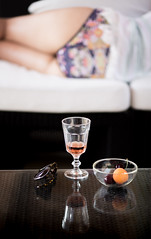 Holiday (JoshyWindsor) Tags: travel family summer stilllife holiday france sunglasses rose fruit cherry table glasses europe legs wine south apricot provence swimsuit canoneos6d