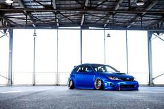 Subaru STI - Rotiform OZT (rotiformwheels) Tags: rotiform subaru sti wagon wheels forged ozt