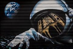 (10/62) Spaceman (ponzoosa) Tags: relative nomadism cosmonaut astronaut spaceman astronauta leon catedral tiera luna graffiti