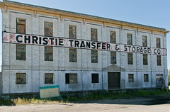 Christie Transfer and Storage (BradPerkins) Tags: neglected abandoned abandonedfactory butte urbanexploration abandonedbuilding windows decay montana cages urbanlandscape empty boardedup metal
