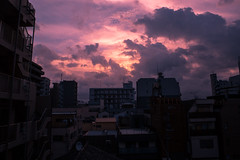 () Tags: tokyo japan sumida nippon city clouds early morning pink sunrise